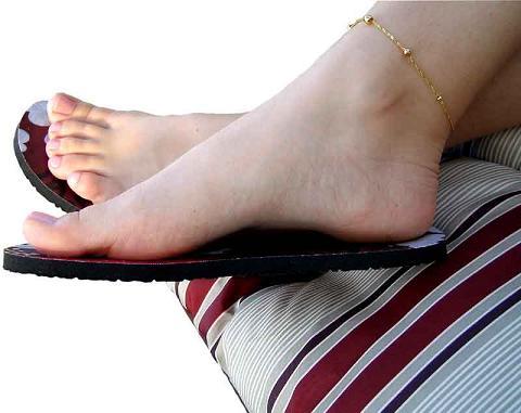 sandalia topless